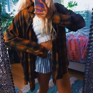 urban outfitters new with tags autumn bf flannel